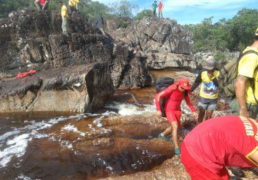 Estudante desaparece enquanto nadava em cachoeira na Chapada dos Veadeiros
