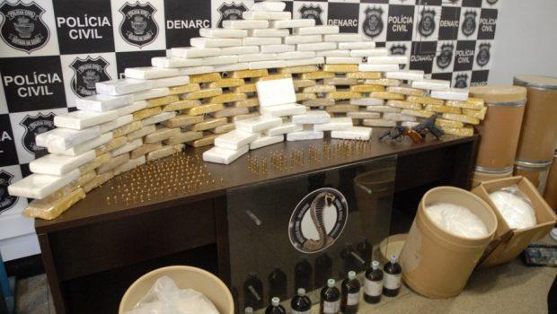 Cocaína que seria enviada para os Estados Unidos e Europa é apreendida em Goiânia