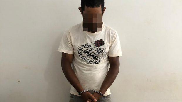 Homem é preso acusado de matar colega de trabalho com doze facadas, em Caldas Novas