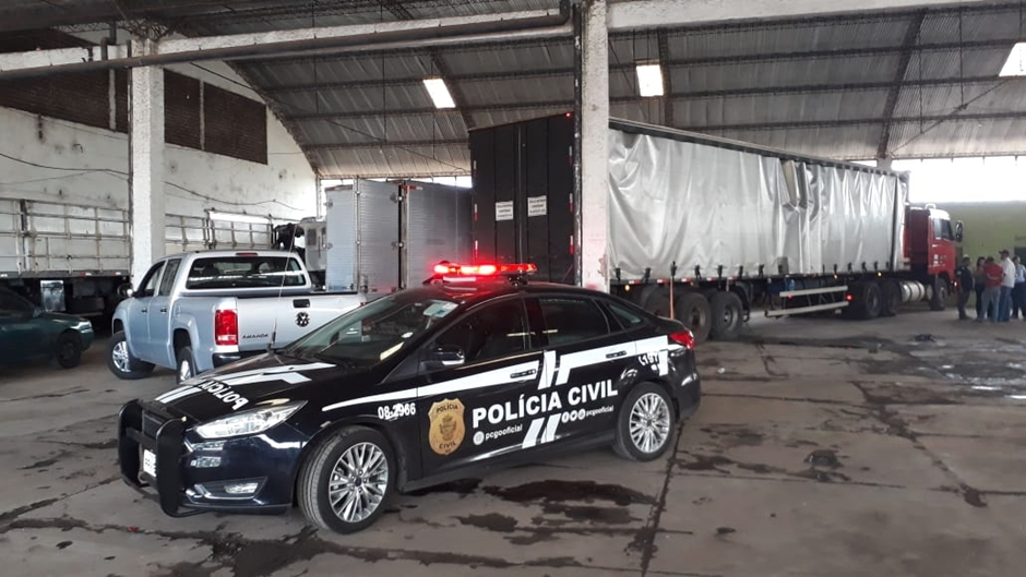 Presos suspeitos de integrar grupo especializado em roubo a cargas em Goiás, Tocantins e no DF