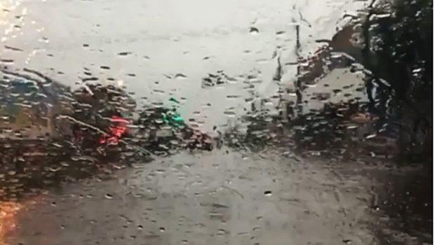 Em Goiânia, previsão é que chuva continue até o início da próxima semana