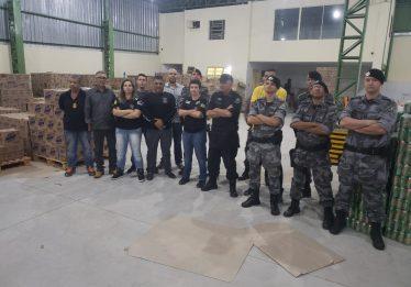 Quadrilha de roubo a cargas é desarticulada, em Goiânia; 55 toneladas de mercadorias foram recuperadas