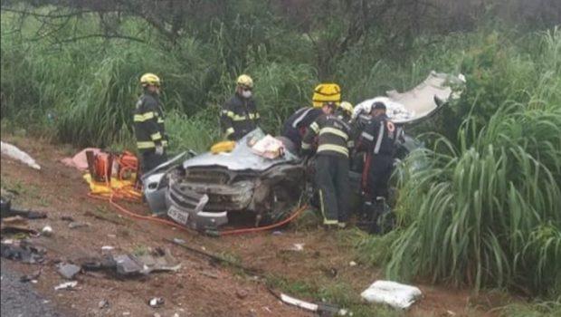 Acidente deixa um morto e 10 feridos na BR-414, próximo a Cocalzinho de Goiás