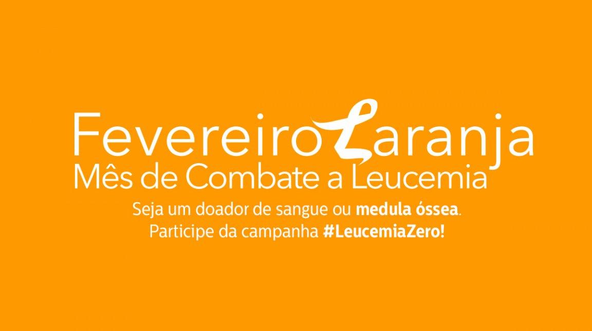 'Fevereiro Laranja' campanha da Secretaria de Sa�de (Foto: Divulga��o)