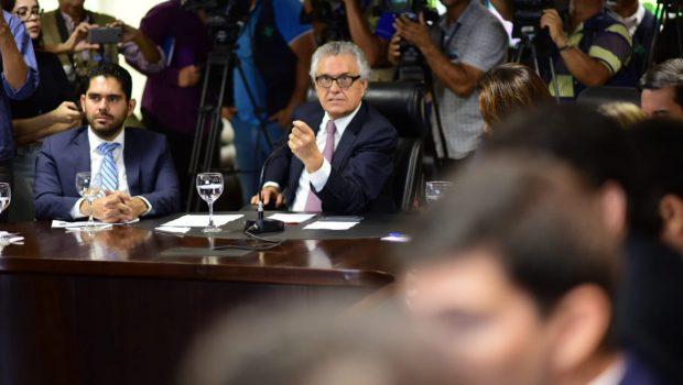 Caiado apresenta balanço de ações dos primeiros 30 dias de governo