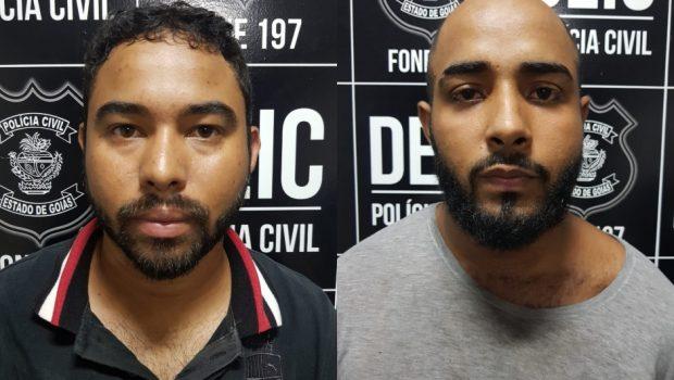 Presa dupla que extorquia vítimas de assalto