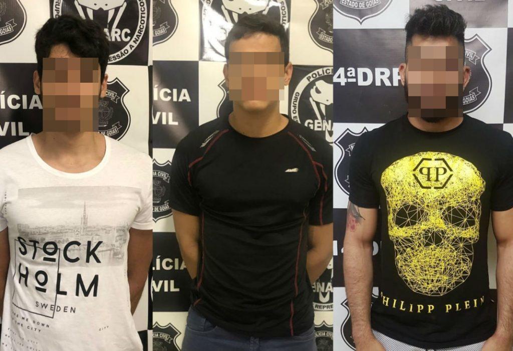 Três pessoas são presas em Jataí após receberem drogas via Sedex