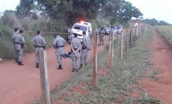 Confronto deixa PM ferido e homem morto no Jardins do Cerrado, em Goiânia
