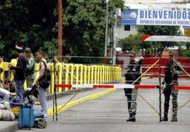 Vice de Maduro anuncia fechamento de fronteira com a Colômbia