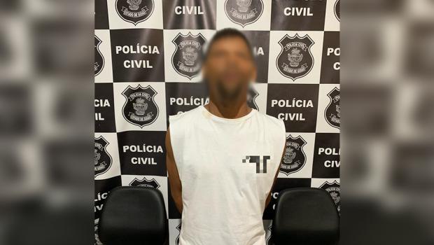 Homem é preso sob acusação de incendiar quarto da ex-companheira em Piracanjuba