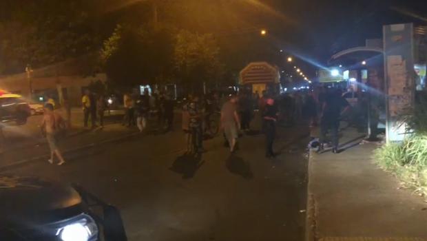 Três pessoas são mortas e duas ficam feridas na Feira do Setor Garavelo, em Aparecida