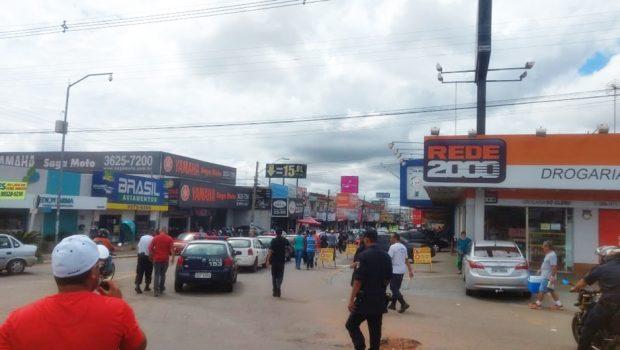 Em greve há cinco dias, Guarda Civil de Aparecida de Goiânia protesta novamente