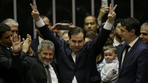 Rodrigo Maia é eleito presidente da Câmara pela terceira vez