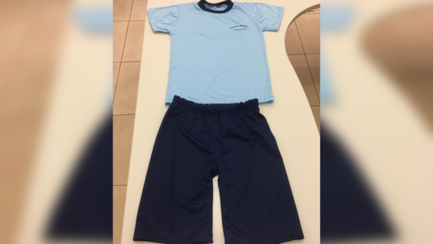 Presos confeccionam uniformes para crianças da rede municipal de educação em Orizona