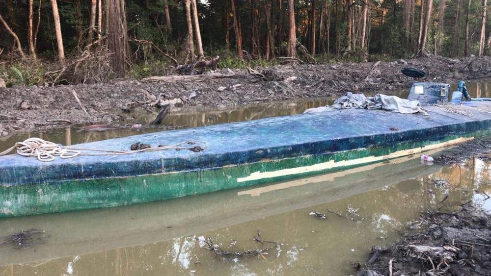 Investigação contra tráfico internacional de drogas levou à apreensão de submarino no Suriname, diz PF