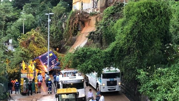 Sobe para cinco número de mortes causadas pela chuva no Rio