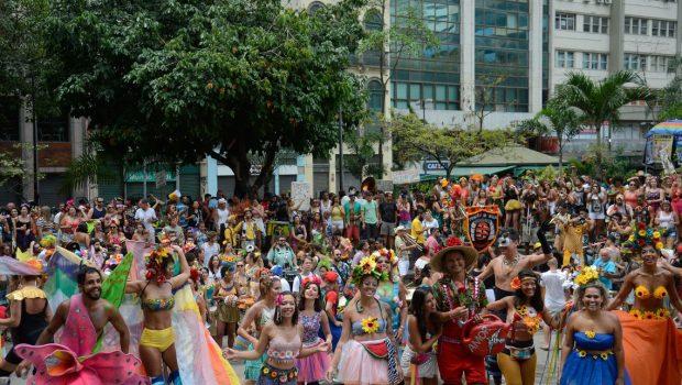 Blocos atraíram 4,5 milhões de foliões no carnaval carioca