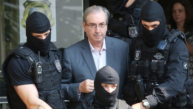 Eduardo Cunha é transferido para presídio no Rio onde está Sérgio Cabral
