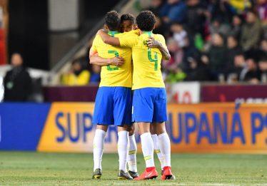 Seleção brasileira vence antes de convocação para a Copa América