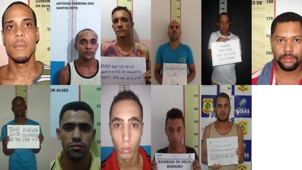 Doze presos fogem do presídio durante o banho de sol, em Uruaçu