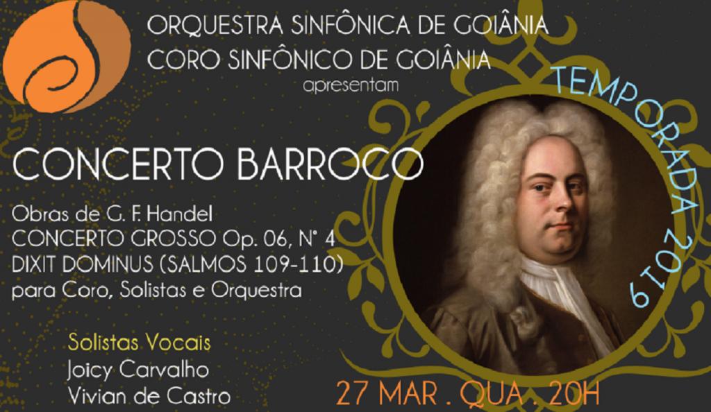 Orquestra e Coro de Goiânia apresentam concerto dedicado ao período barroco