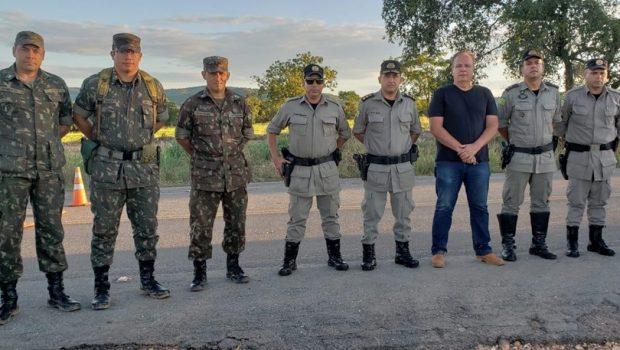 Exército inicia procedimentos para instalação de ponte metálica na GO-060