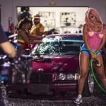 Mc Pocahontas grava clipe de 'Não Sou Obrigada' (Foto: Eduardo Orelha)