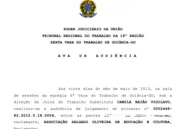 Universidade fecha acordo para pagar R$ 1,3 milhão de verbas trabalhistas a ex-empregado