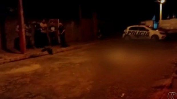 Casal é morto a tiros na porta de casa em Morrinhos