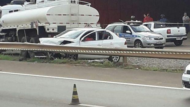 Homem é morto a tiros ao lado da família em Anápolis