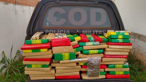 Polícia apreende meia tonelada de maconha, em Serranópolis