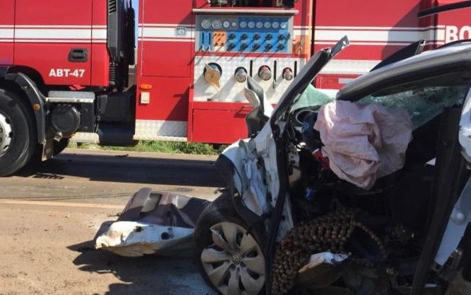 Idoso morre em acidente de trânsito na BR-020, em Formosa