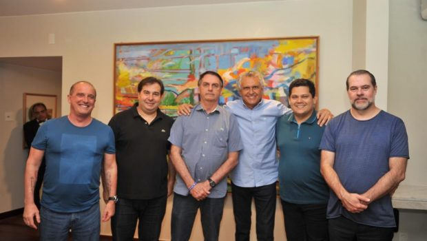 Em almoço com Bolsonaro, Caiado articula liberação de R$ 1,06 bilhões para Goiás