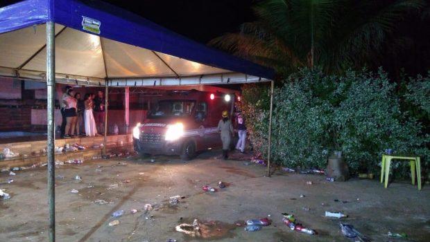 Jovem fica ferido após ser atingido por bala perdida durante festa em Formosa