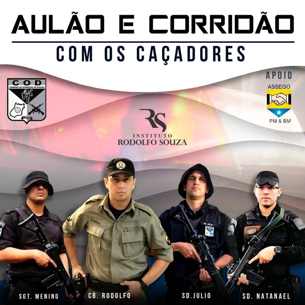 Campanha busca arrecadar R$ 15 mil para militar participar de curso da SWAT nos EUA