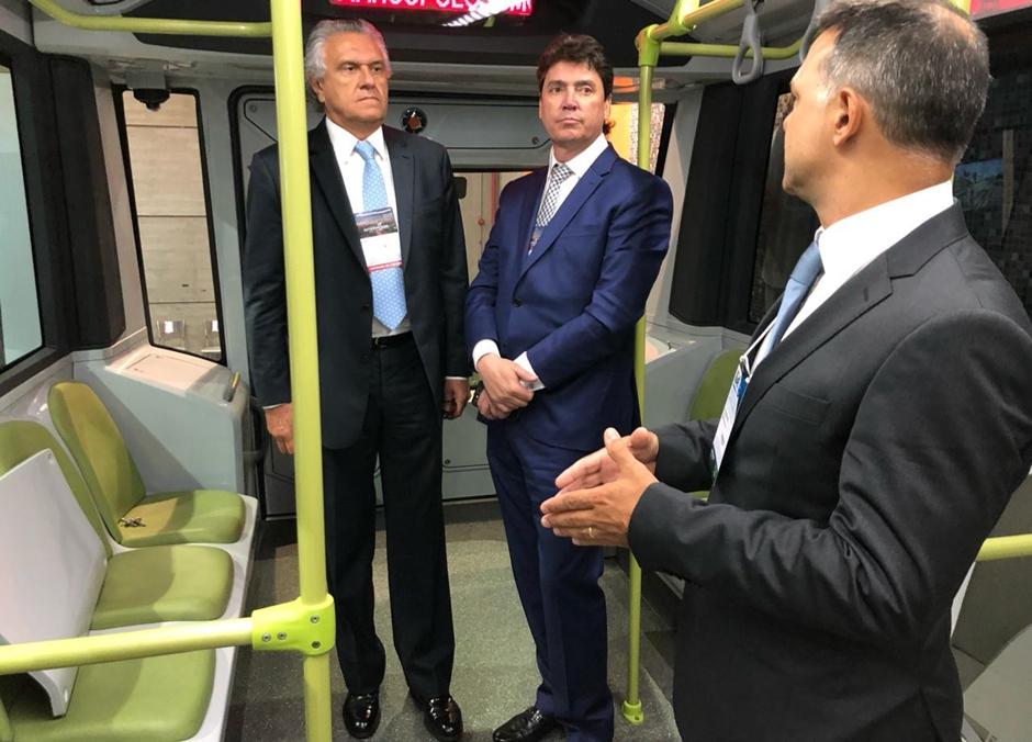 Governo avalia tecnologia de ônibus elétricos sobre trilhos para o Eixo Anhanguera