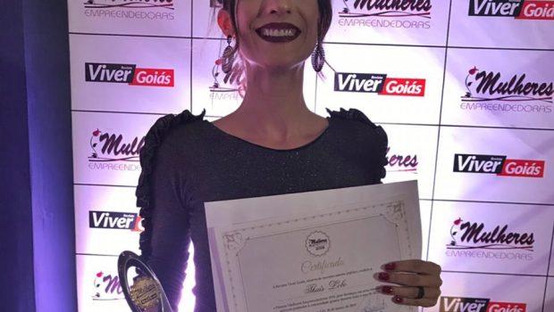 Editora do Mais Goiás recebe prêmio Mulheres Empreendedoras 2019