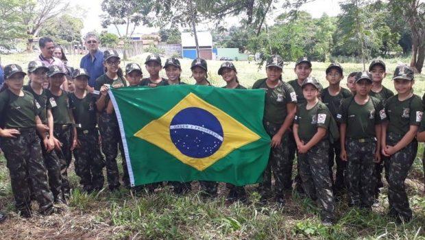 Polícia Militar implanta Projeto Guardião Ambiental Mirim em Aparecida de Goiânia