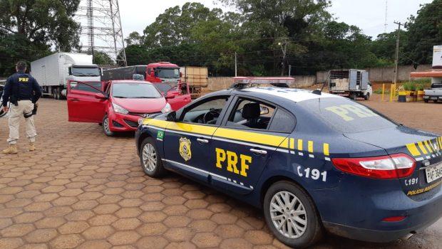 Motorista de aplicativo é preso ao transportar 14 quilos de drogas na BR-060, em Anápolis