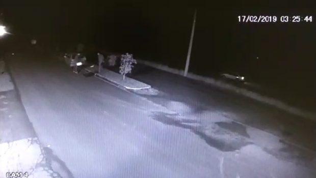 Rapaz é preso suspeito de tentativa de homicídio, em Jataí