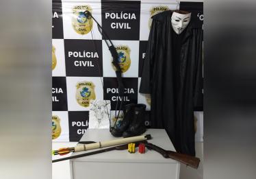 Polícia apreende menor de idade que planejava atendado a escola, em Pontalina