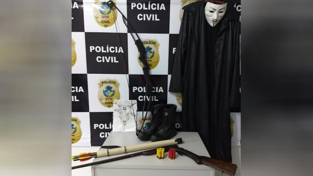 Polícia apreende menor de idade que planejava atentado a escola, em Pontalina
