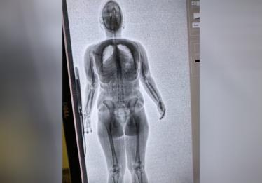 Mulher é flagrada tentando entrar com drogas nas partes íntimas na CPP de Aparecida de Goiânia