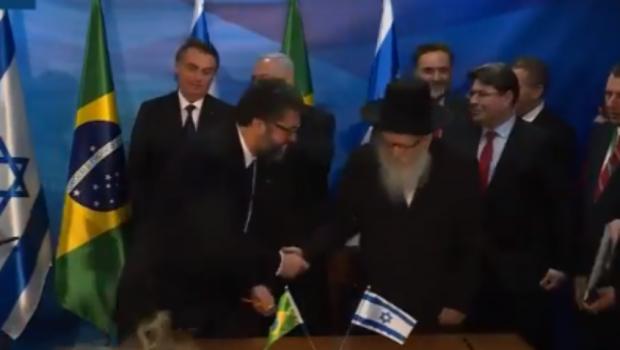 Brasil e Israel firmam cinco acordos e um memorando de entendimento