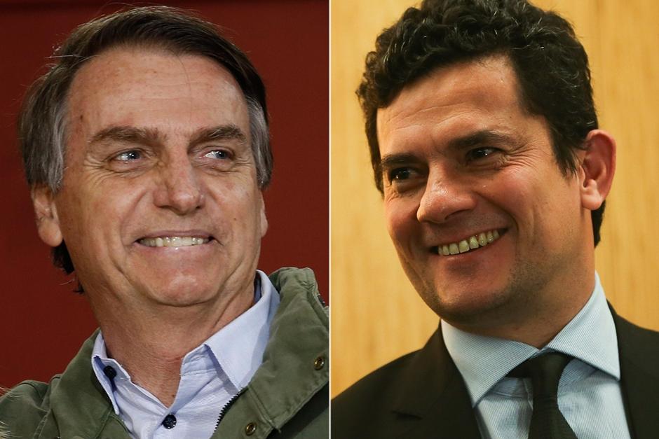 Deputado quer conceder título de cidadão goiano a Jair Bolsonaro e Sérgio Moro