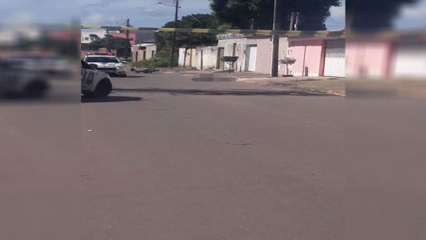 Homem morre e outro é preso após confronto com a PM, em Aparecida de Goiânia