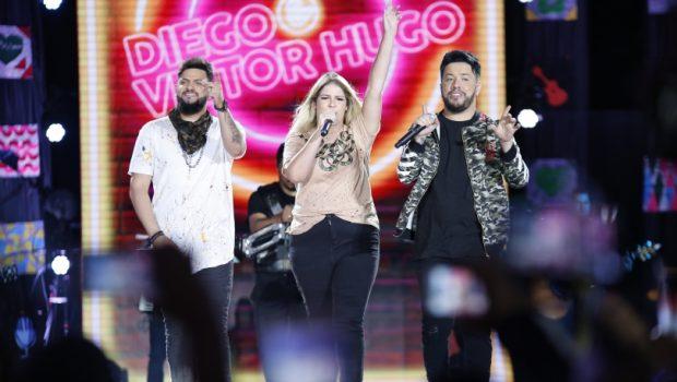 'Do Copo Eu Vim': Diego e Victor Hugo lançam faixa com Marília Mendonça