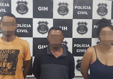 Polícia Civil prende três suspeitos de assassinar jovem em Águas Lindas de Goiás