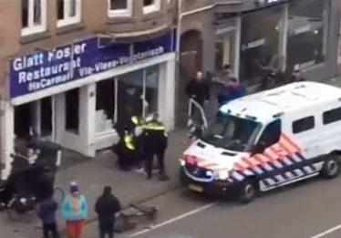 Três suspeitos estão presos na Holanda por envolvimento em tiroteio