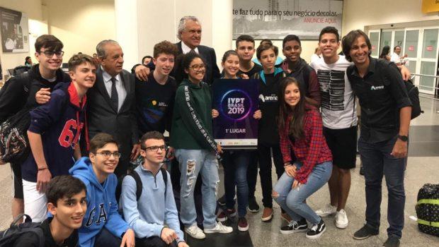 Estudantes goianos vencem, pela segunda vez, a 'Copa do Mundo de Física'